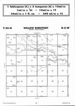 Willow Township Directory Map, Antelope County 2006